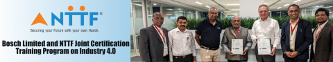 Bosch Limited and NTTF Joint Certification Training Program on Industry 4.0